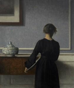 By Vilhelm Hammershøi